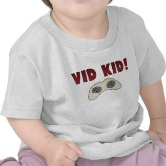 Video Game Kid T Shirts