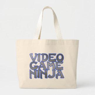 VIDEO GAME NINJA (blue) Bags
