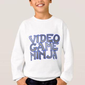 VIDEO GAME NINJA (blue) Sweatshirt