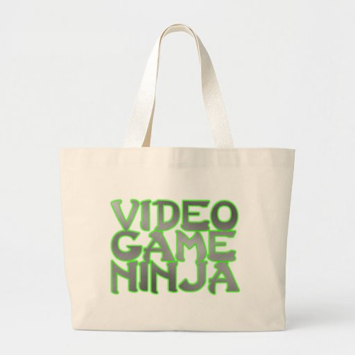 VIDEO GAME NINJA (green) Bags