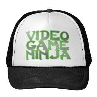 VIDEO GAME NINJA (green) Cap