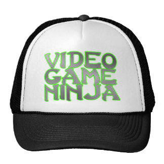 VIDEO GAME NINJA (green) Trucker Hats