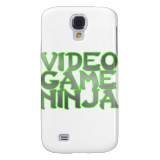 VIDEO GAME NINJA (green) Samsung Galaxy S4 Cases