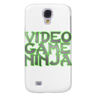 VIDEO GAME NINJA (green) Samsung Galaxy S4 Case