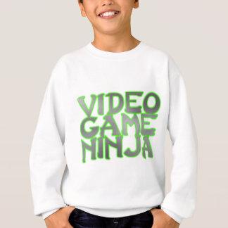 VIDEO GAME NINJA (green) Sweatshirt