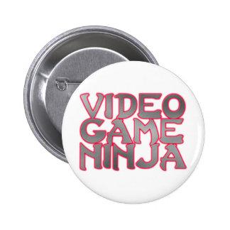 VIDEO GAME NINJA red Pin