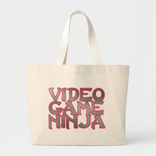 VIDEO GAME NINJA (red) Bag