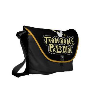 video game parody trombone paladin courier bag