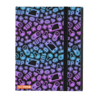 Video Game Pattern Retro Colors iPad Pro cover