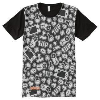 Video Game Pattern T-Shirt