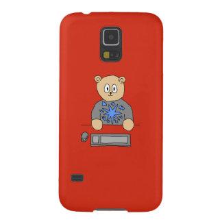Video Game Player Bear Samsung Galaxy Nexus Cover