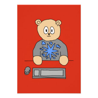 Video Game Player Bear Invites