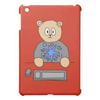 Video Game Player Bear. iPad Mini Covers