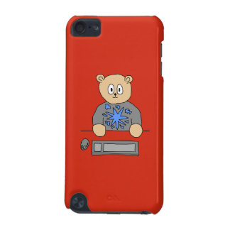 Video Game Player Bear. iPod Touch 5G Cover