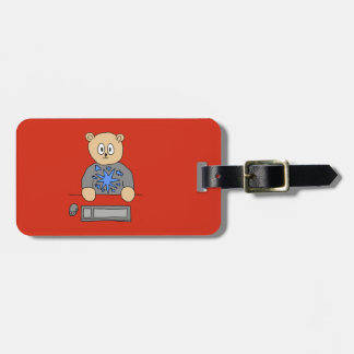 Video Game Player Bear. Tags For Bags