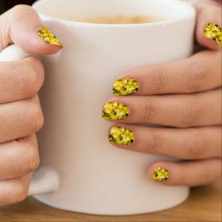 Video Game Sunny Yellow Kawaii Stars Nail Art Minx® Nail Art