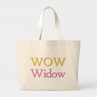 Video Game Widow Jumbo Tote Bag