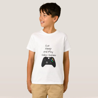 Video Games Boys Girls T-shirt
