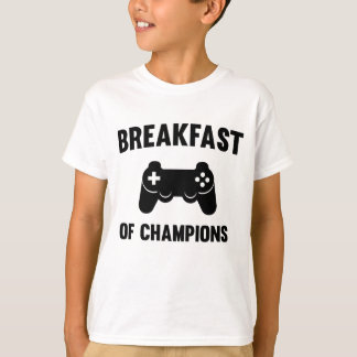 Video Games. Breakfast of Champions T-Shirt