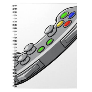 Video Games Console Controller Notebook