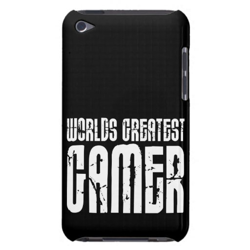 Video Games Gaming & Gamers Worlds Greatest Gamer Barely There iPod Cases