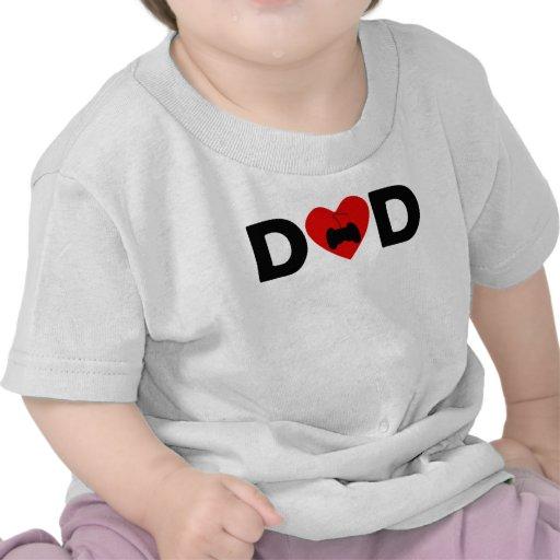 Video Games Heart Dad T Shirt