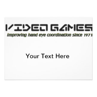 Video Games Improving Hand Eye Coordination Custom Invites