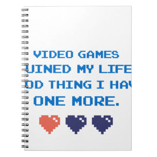 VIDEO GAMES NOTEBOOK