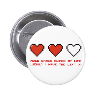 Video Games Pin