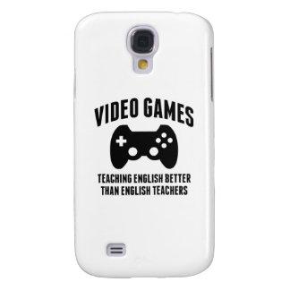 Video Games Teaching English Galaxy S4 Cases