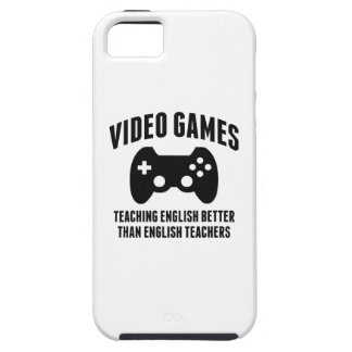 Video Games Teaching English iPhone 5 Cases