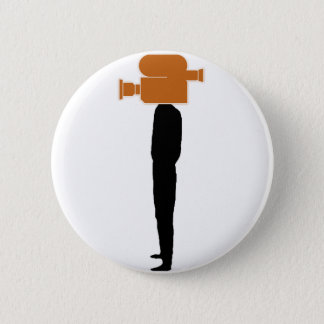 video head - PNG 6 Cm Round Badge