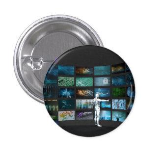 Video Marketing Across Multiple Channels 3 Cm Round Badge