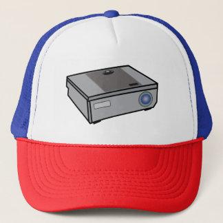 Video projector trucker hat