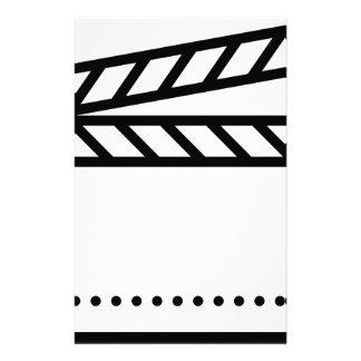 Video Slate Stationery