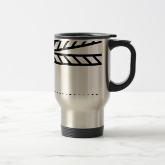 Video Slate Travel Mug