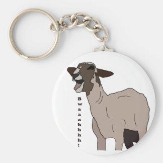 Video star goat screaming! key ring