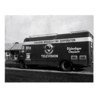 Video Tape Mobile Unit Postcard