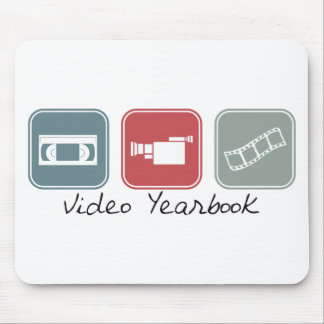 Video Yearbook (Squares) Mousepad