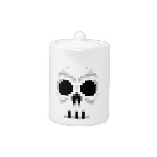 Videogame Death Skull - Pixel Art