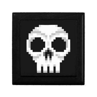 Videogame Death Skull - Pixel Art Gift Box