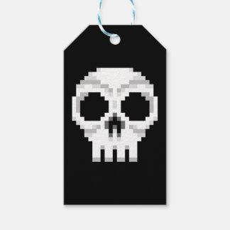 Videogame Death Skull - Pixel Art Gift Tags
