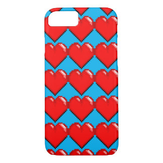 Videogame Life Heart - Pixel Heart iPhone 8/7 Case