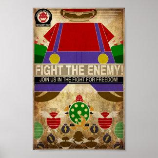 Videogame Propaganda Print