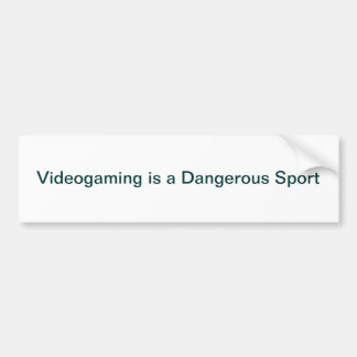 Videogaming Bumper Sticker