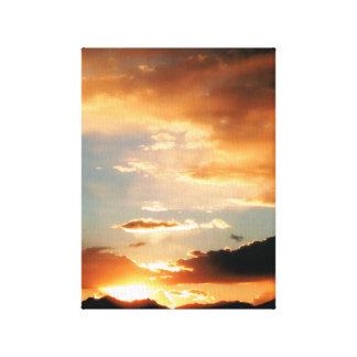"""""""Vielen Dank, dass sie Gott."""" (Thank you God.) Stretched Canvas Prints"""