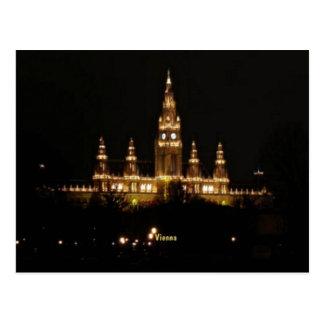 Vienna at Night Postcard