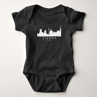Vienna Austria Skyline Baby Bodysuit