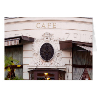 Vienna Cafe Card