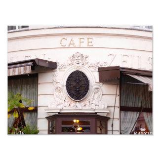 Vienna Cafe Photo Print